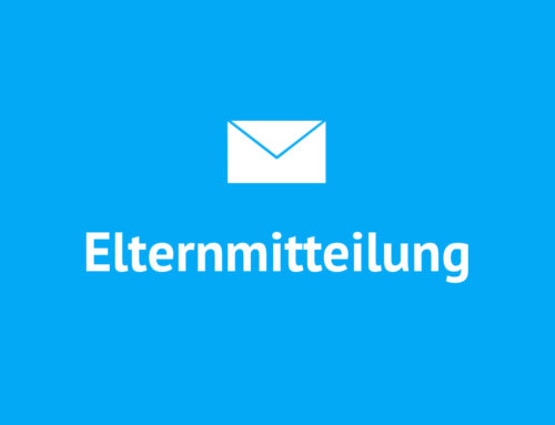 Elterninformation vom 04.05.2018
